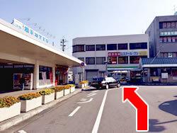 橿原市の橿原吉祥寺鍼灸接骨院専用駐車場への道順写真01
