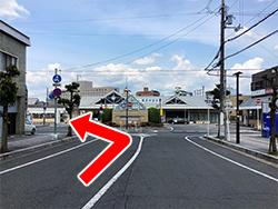 専用駐車場道順01